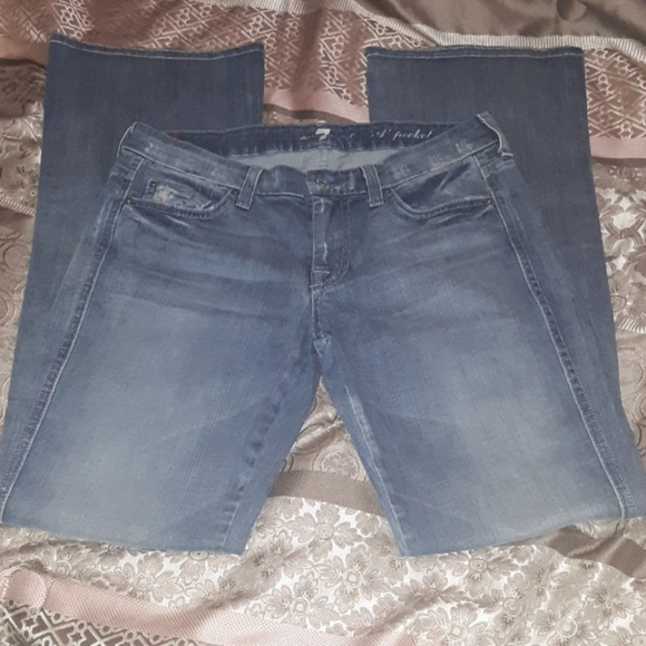 """7 For All Mankind Denim - 7 For All Mankind  """"A Pocket"""" size 27"""